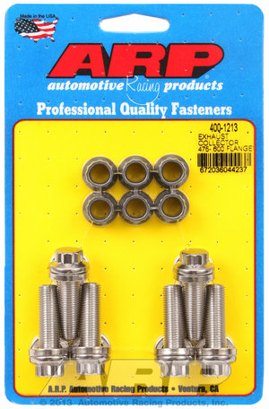 ARP Exhaust collector .475-.600 flange bolt kit 4001213