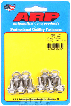 ARP Chevy SS hex timing cover bolt kit 4001502