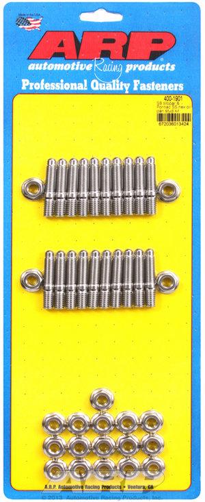ARP SB Mopar & Pontiac SS hex oil pan stud kit 4001901