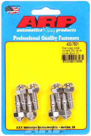 ARP Stamped steel covers SS valve cover stud kit 4007601