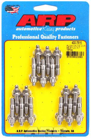 ARP Cast alum covers SS 12pt valve cover stud kit, 16pc 4007615