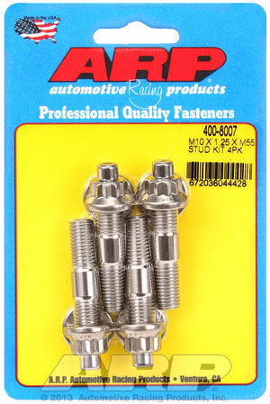 ARP M10 X 1.25 X 55mm broached stud kit 4pcs 4008007