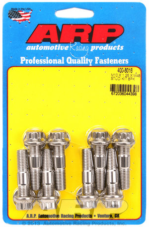 ARP M10 X 1.25 X 48mm broached stud kit 8pcs 4008016