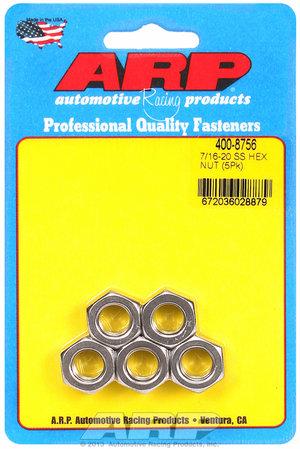 ARP 7/16-20 SS fine hex nut kit 4008756