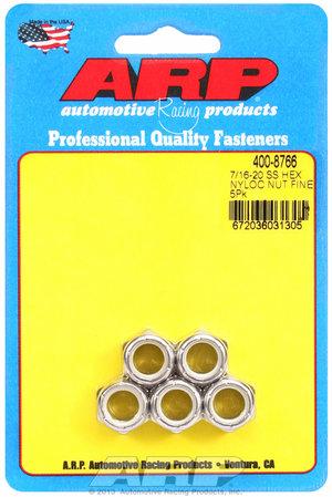 ARP 7/16-20 SS fine hex nut kit 4008766