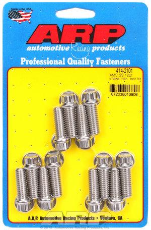 ARP AMC SS 12pt intake manifold bolt kit 4142101
