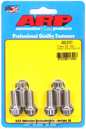 ARP Chevy SS 12pt motor mount bolt kit 4303101