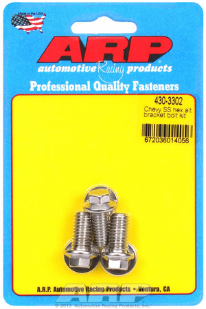 ARP Chevy SS hex alternator bracket bolt kit 4303302