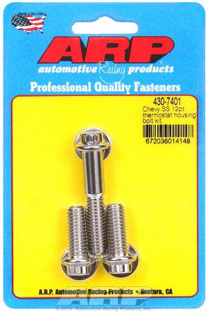 ARP Chevy SS 12pt thermostat housing bolt kit 4307401