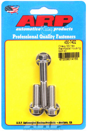 ARP Chevy SS hex thermostat housing bolt kit 4307402