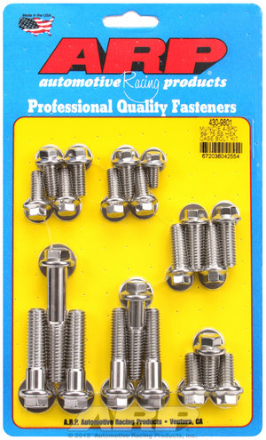 ARP Muncie 4-spd '69-'75 SS hex trans case bolt kit 4309801