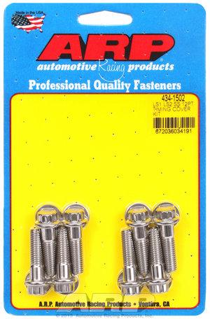ARP LS1 LS2 SS 12pt timing cover bolt kit 4341502