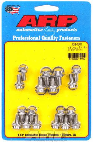 ARP SB Chevy SS 12pt oil pan bolt kit 4341801