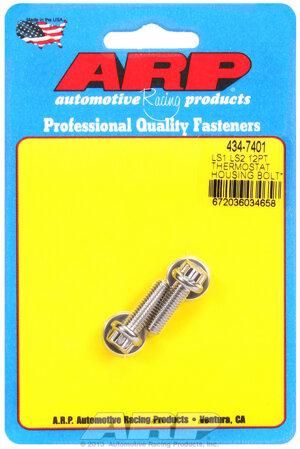 ARP LS1 LS2 SS 12pt thermostat housing bolt kit 4347401