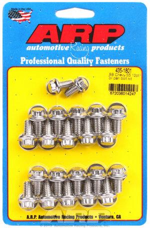 ARP BB Chevy SS 12pt oil pan bolt kit 4351801
