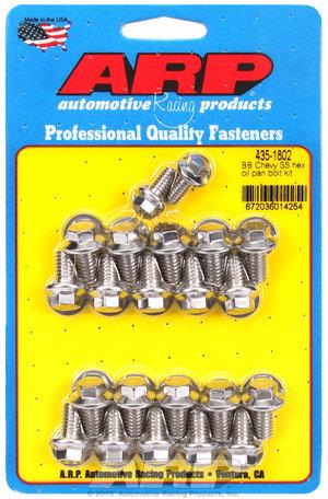 ARP BB Chevy SS hex oil pan bolt kit 4351802