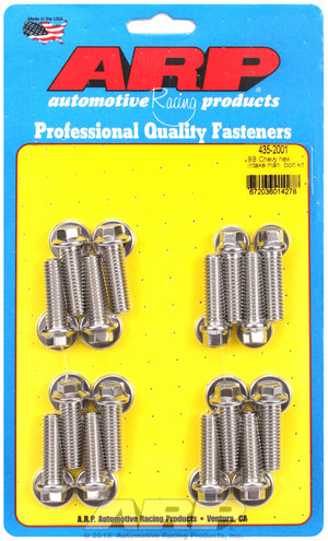 ARP BB Chevy hex intake manifold bolt kit 4352001