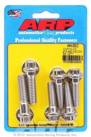 ARP Chrysler 273-360 wedge SS 12pt bellhousing bolt kit 4440902