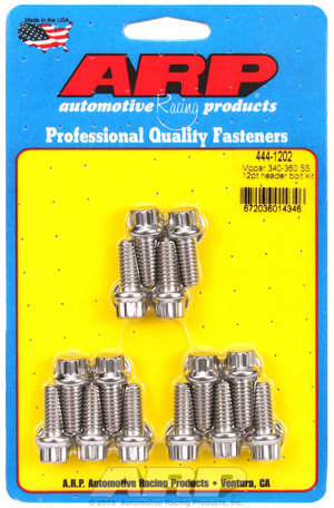 ARP Mopar 340-360 SS 12pt header bolt kit 4441202