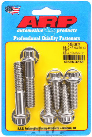 ARP BB Chrysler SS 12pt bellhousing bolt kit 4450902