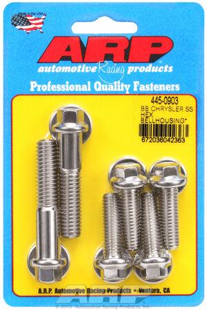 ARP BB Chrysler SS hex bellhousing bolt kit 4450903