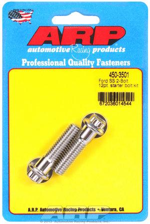 ARP Ford SS 2-bolt 12pt starter bolt kit 4503501