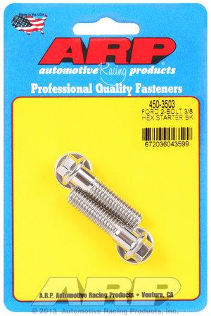 ARP Ford SS 2-bolt hex starter bolt kit 4503503