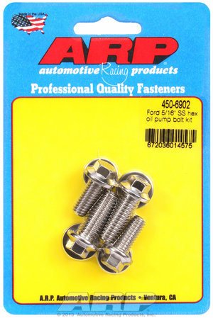 "ARP Ford SS 5/16"" hex oil pump bolt kit 4506902"