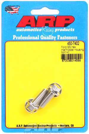 ARP Ford SS hex thermostat housing bolt kit 4507402