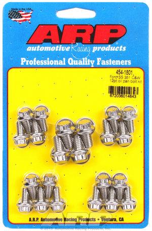 ARP Ford SS 351C & W 12pt oil pan bolt kit 4541801
