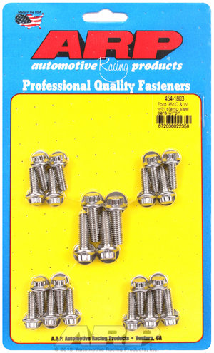 ARP Ford SS 12pt 351C & W oil pan bolt kit 4541803