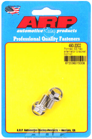 ARP Pontiac SS hex alternator bracket bolt kit 4903302