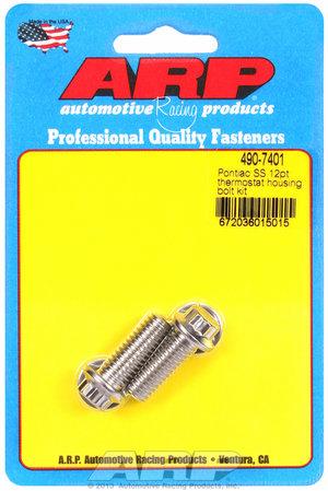 ARP Pontiac SS 12pt thermostat housing bolt kit 4907401