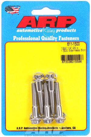 ARP 1/4-20 x 1.500 12pt SS bolts 6111500