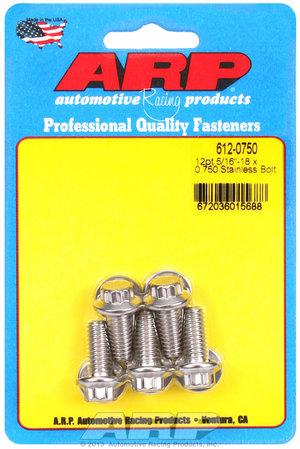 ARP 5/16-18 x 0.750 12pt SS bolts 6120750
