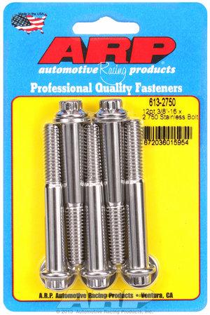 ARP 3/8-16 x 2.750 12pt SS bolts 6132750