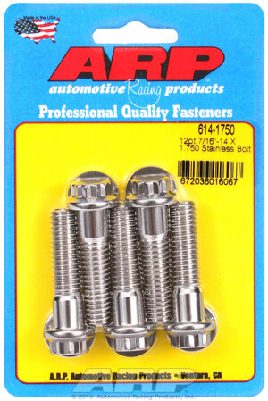 ARP 7/16-14 X 1.750 12pt 1/2 wrenching SS bolts 6141750