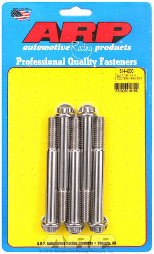 ARP 7/16-14 X 4.000 12pt 1/2 wrenching SS bolts 6144000