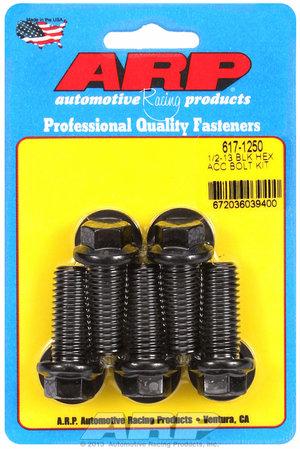 ARP 1/2-13 x 1.250 hex black oxide bolts 6171250