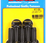 ARP 1/2-13 x 1.250 hex black oxide bolts 6171250