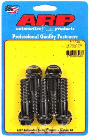 ARP 1/2-13 x 2.000 hex black oxide bolts 6172000