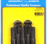 ARP 1/2-13 x 2.000 hex black oxide bolts 6172000