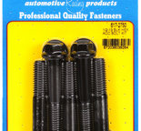 ARP 1/2-13 x 2.750 hex black oxide bolts 6172750