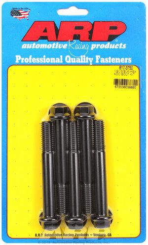 ARP 1/2-13 x 3.750 hex black oxide bolts 6173750