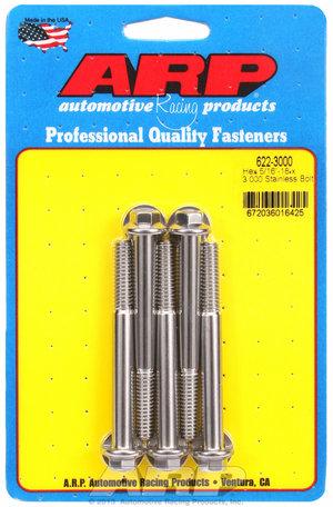 ARP 5/16-18 x 3.000 hex SS bolts 6223000