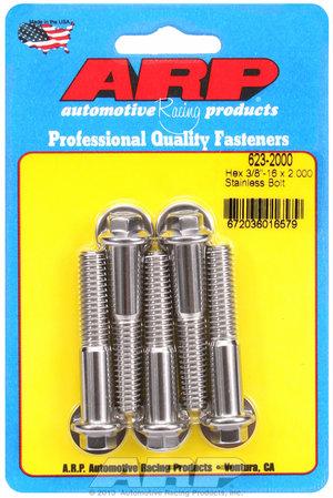 ARP 3/8-16 x 2.000 hex SS bolts 6232000