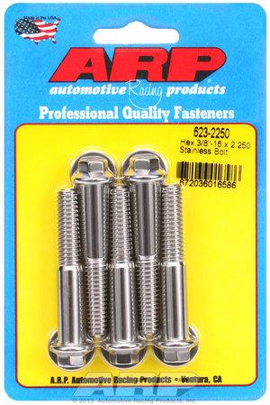 ARP 3/8-16 x 2.250 hex SS bolts 6232250