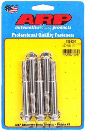 ARP 3/8-16 x 3.000 hex SS bolts 6233000