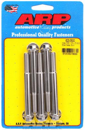 ARP 3/8-16 x 3.500 hex SS bolts 6233500