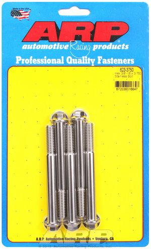 ARP 3/8-16 x 3.750 hex SS bolts 6233750